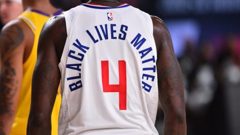 """Black Lives Matter"" movement in the NBA"