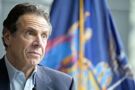 New York Governor Andrew Cuomo facing immense pressure for his nursing home scandal, and workplace sexual harassment accusations. Photo Courtesy of the US News & World Report.